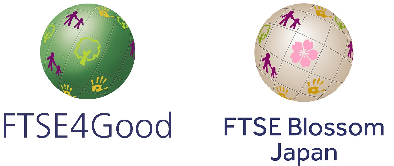 「FTSE4Good Index Series」「FTSE Blossom Japan Index」