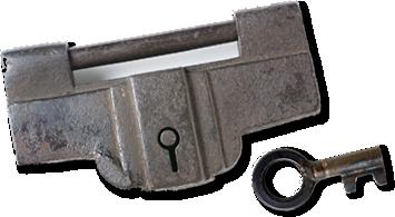 鍵ものがたりVol.1 鍛冶職人の技が光る和錠